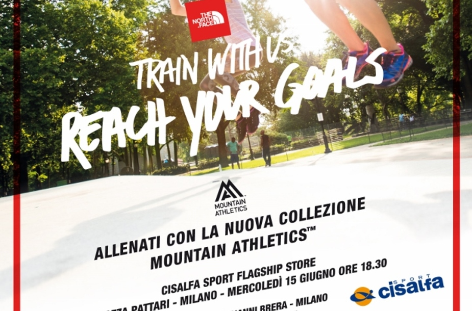 Face A The Mountain Training Athletics Milano North 7n7Xx1rP5