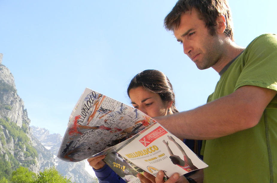 Chris sharma e daila ojeda melloblocco   ph. up climbing