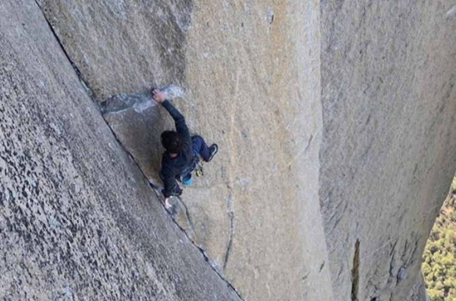 Brad Gobright sale The Muir Wall in Yosemite, 5.13c