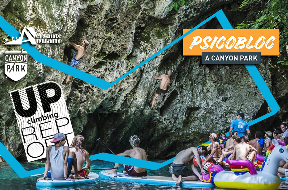 Psicobloc canyon party   report