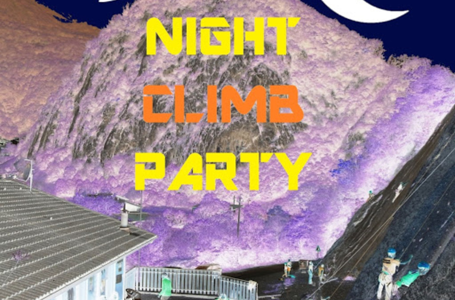 Night climb party