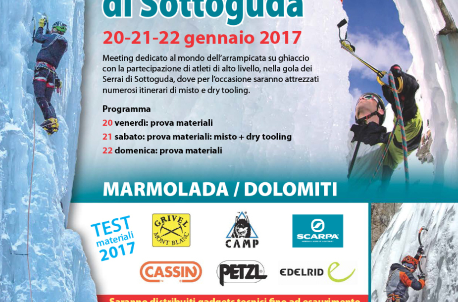 Sottoguda ice climbing meeting 2017 ita