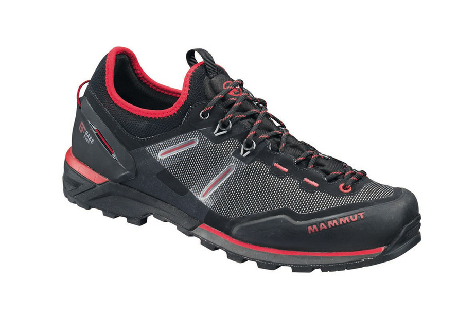 Mammut alnasca knit low m black magma gho1 4c
