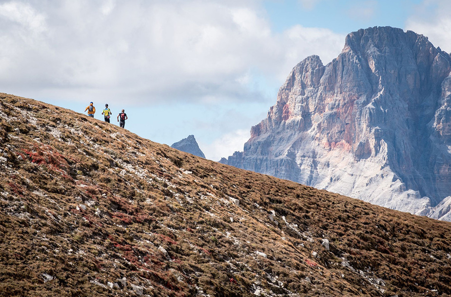 It starts the Tre Cime Experience's countdown