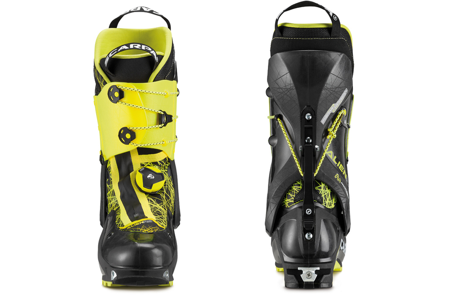 Scarpa   alien rs front back