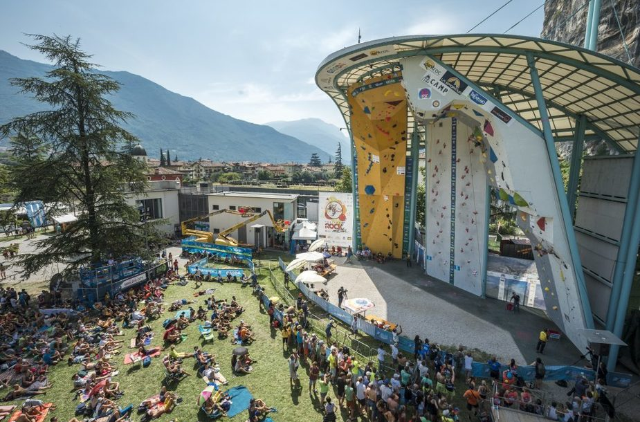IFSC Climbing World Cup 2018-Arco
