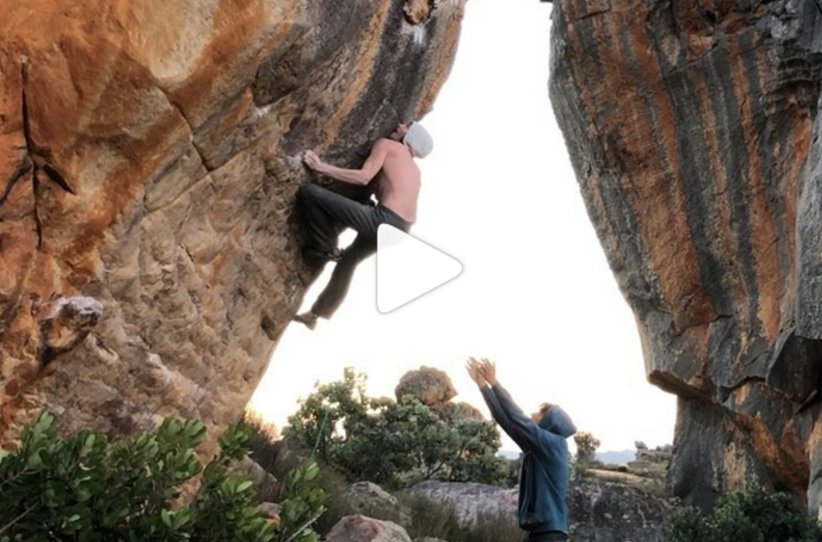 Another 8C for Dave Graham